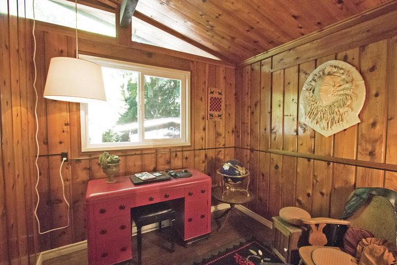 Bedrooms Pender Island cabin