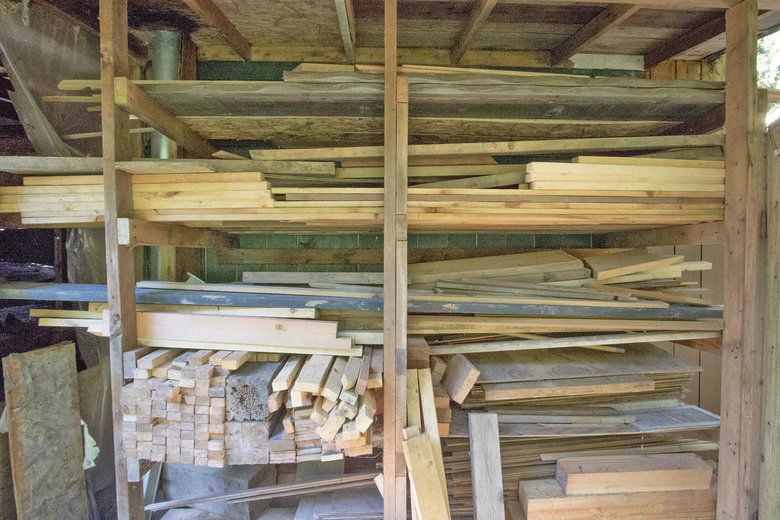 Storage for building supplies