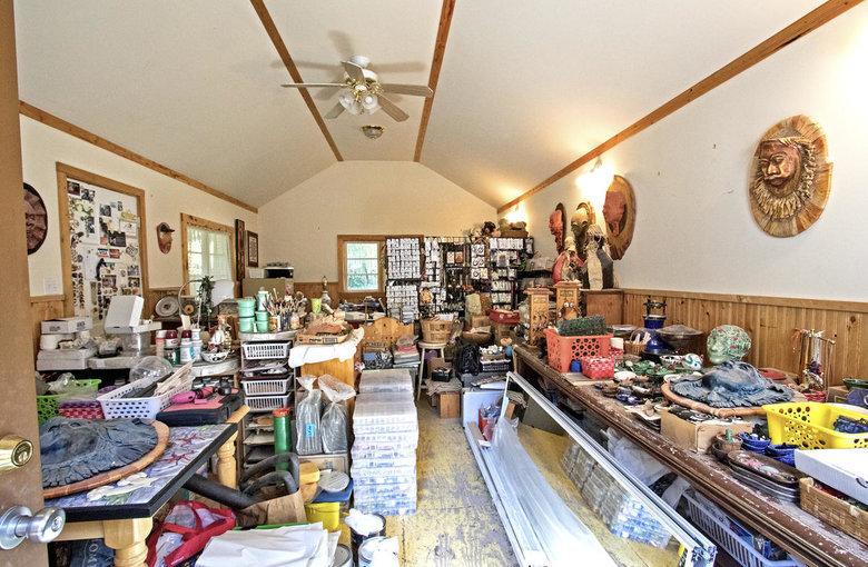 big artist studio