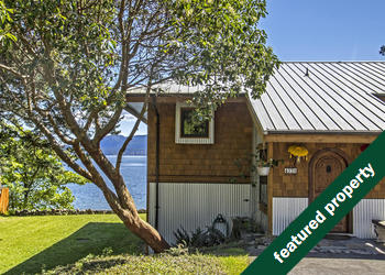 Waterfront Pender Island home