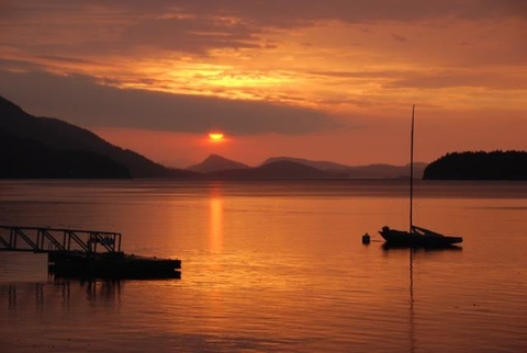 Pender Island Sunset