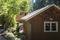 little gulf island house with an artists studio