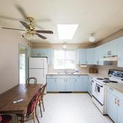 big sunny kitchen
