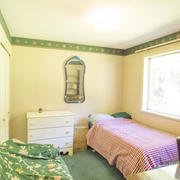 bright and sunny bungalow bedroom