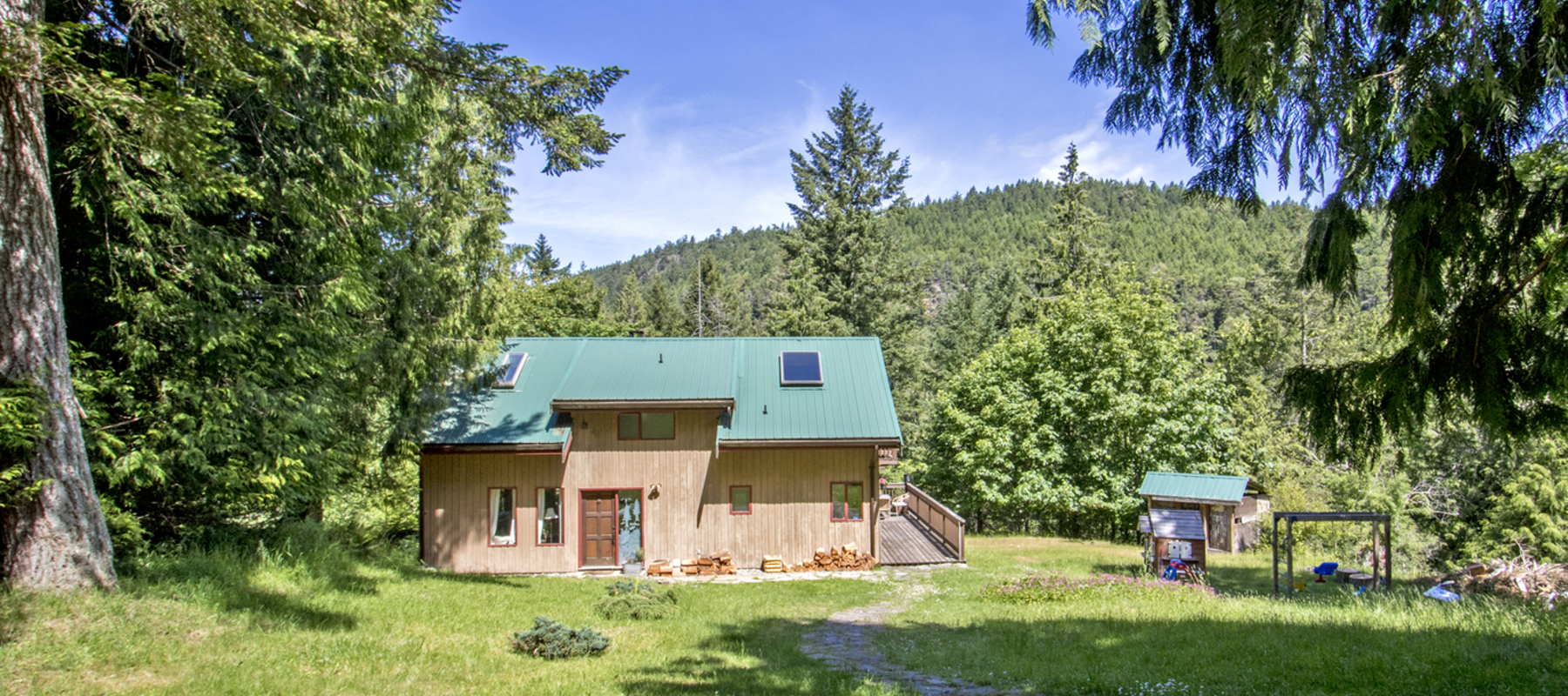 Cottage in the Woods, 113 Narvaez Bay Rd, Saturna Island