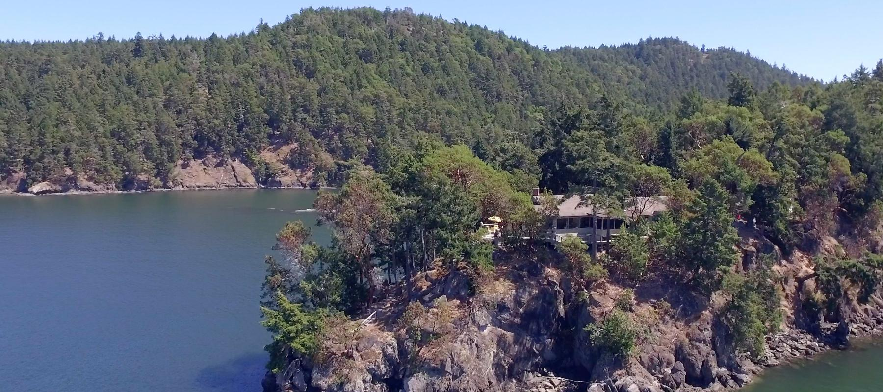 Private Islet on Pender Island - 2601 Harpoon Road - Dockside Realty